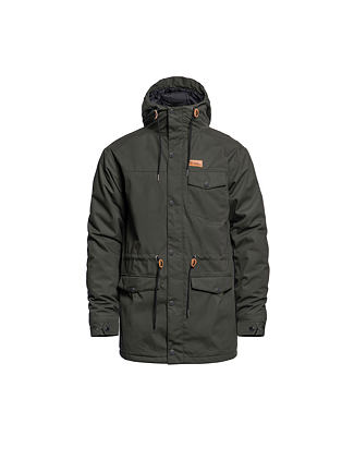 Preston jacket - forest night
