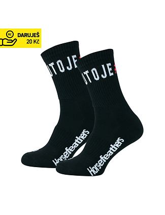 COPATUTOJE men's socks - black