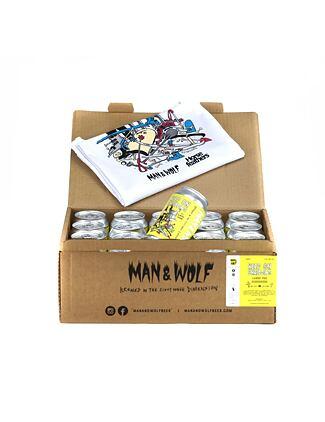 Man & Wolf set (t-shirt + lager box)