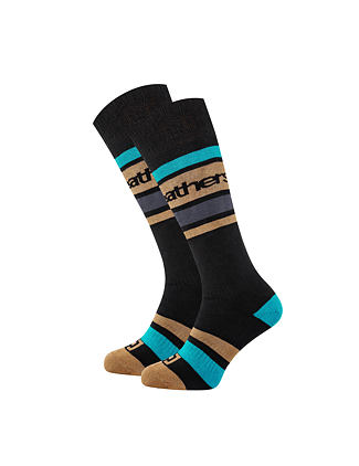 Mace snowboard socks - black