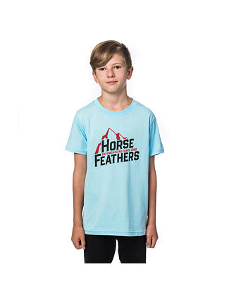 Slant Youth t-shirt - sky blue