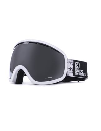 HF x Melon Optics Chief goggles - white birch/silver chrome