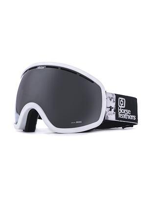 HF x Melon Optics Chief goggles - white birch/silver chrome