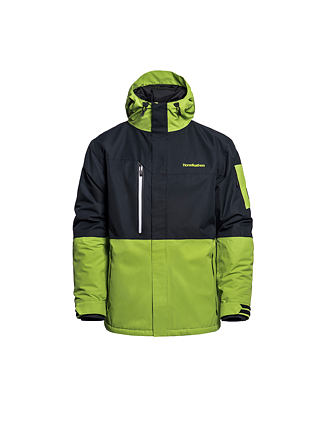 Ripple jacket - macaw green
