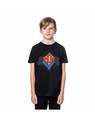 Clark Youth t-shirt - black