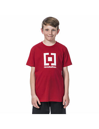 Base Youth t-shirt - lava red