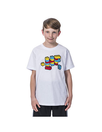 Bricks Youth t-shirt - white