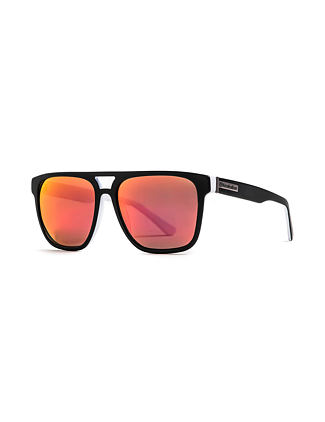 Trigger sunglasses - matt black/mirror red