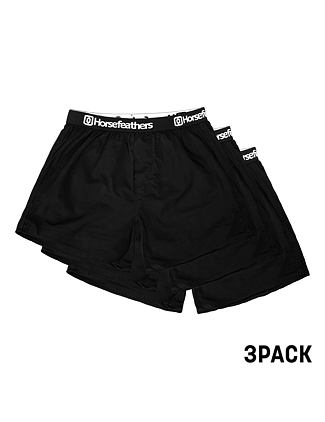 Frazier 3pack boxer shorts - black