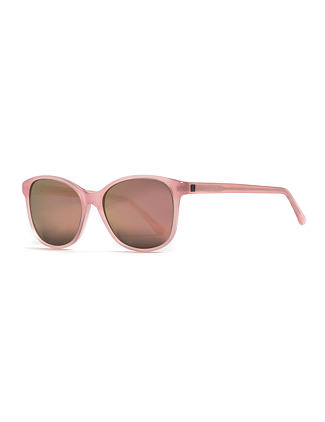Chloe sunglasses - gloss rose/mirror champagne