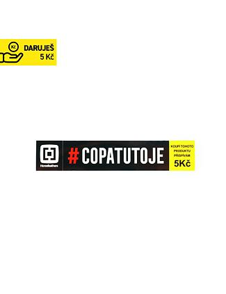 COPATUTOJE sticker - black