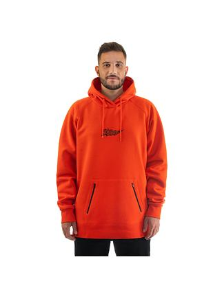 Mykel hoodie - tomato red