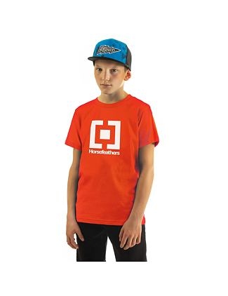 Base Youth t-shirt - tomato red