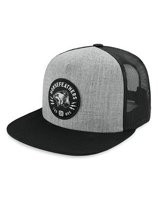 Harper Youth cap - heather gray