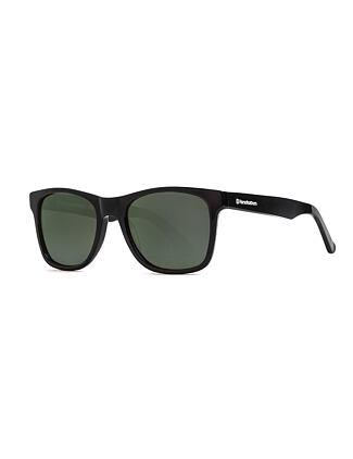 Foster sunglasses - gloss black/gray green