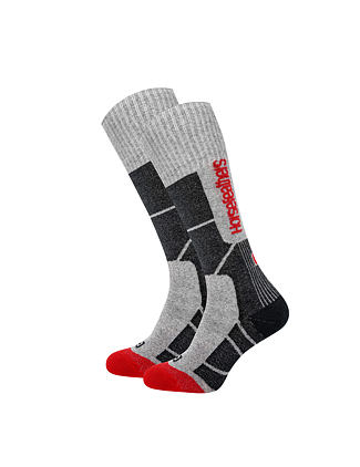 Seth Thermolite snowboard socks - heather gray
