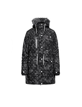 Luann jacket - dotted camo