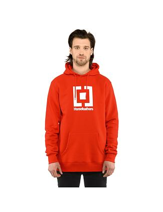 Leader hoodie - tomato red