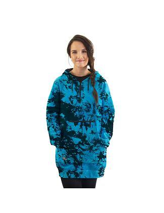 Alita hoodie - blue tie dye