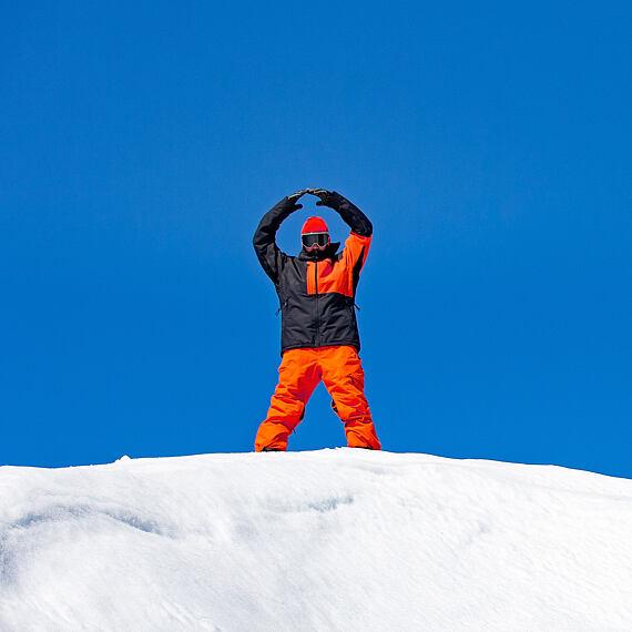 Mallard jacket - jaffa orange