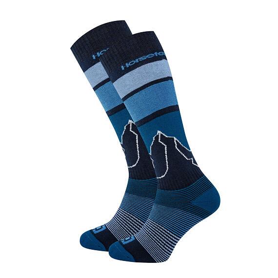 Blair Thermolite snowboard socks - blue