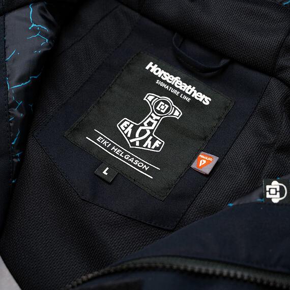 Horsefeathers bunda Ripple Eiki - vnitřní label