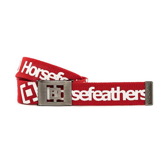Horsefeathers pásek Idol red