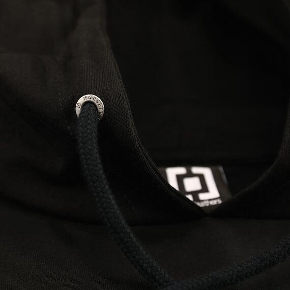 Horsefeathers šaty Ivey black - stažení kapuce