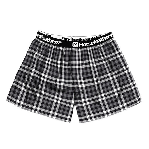 Clay boxer shorts - grayscale