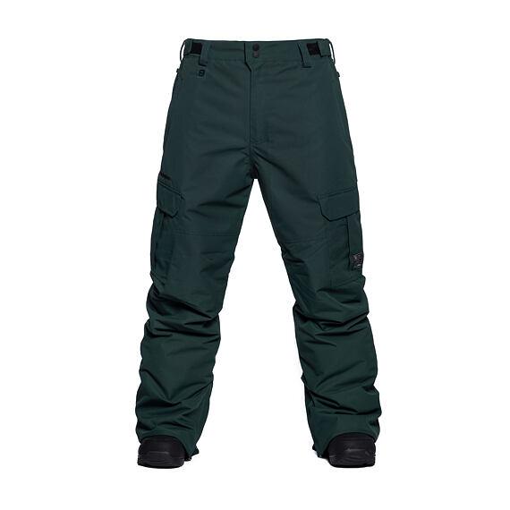Horsefeathers snowboardové kalhoty Howel 10 - deep green