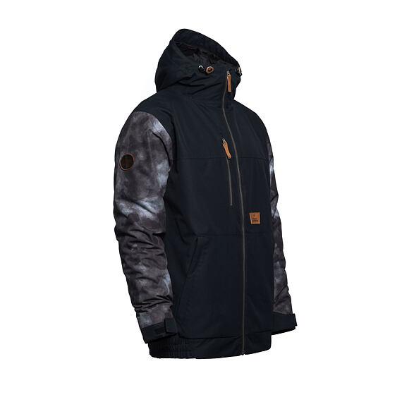 Revel jacket - gray camo