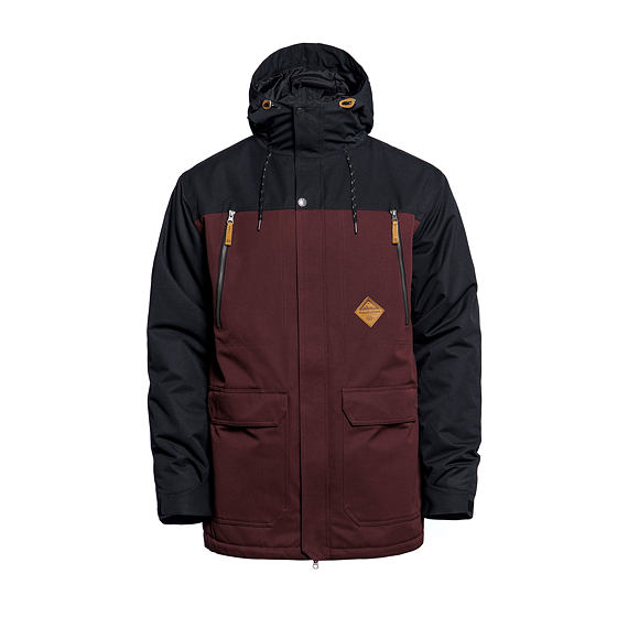 Thorn jacket - raisin