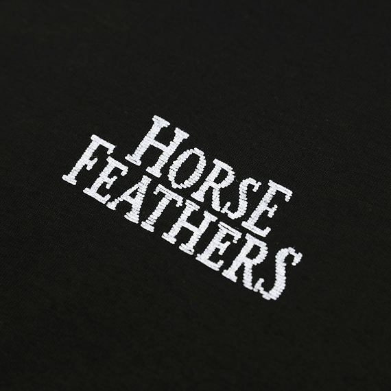 Horsefeathers šaty Lexis black - potisk