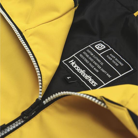 Horsefeathers bunda Isaac lemon - vnitřní label