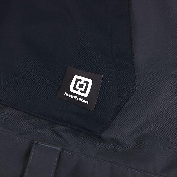 Horsefeathers snowboardové kalhoty Groover - label