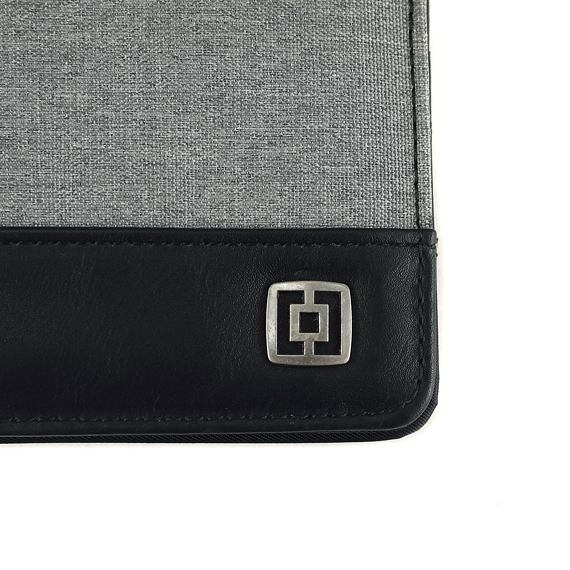 Terry wallet - heather gray
