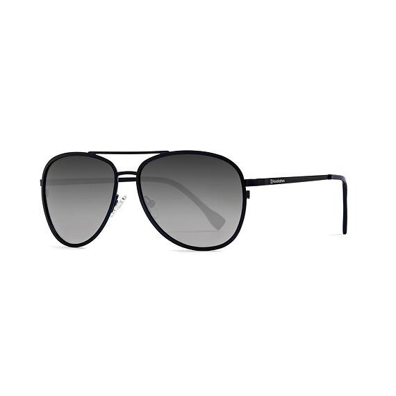 Gloster sunglasses - matt black/mirror white