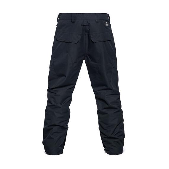 Horsefeathers snowboardové kalhoty Howel 10 - black