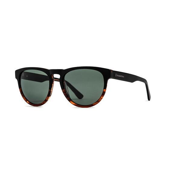 Sluneční brýle Horsefeathers Ziggy - matt havana/gray green