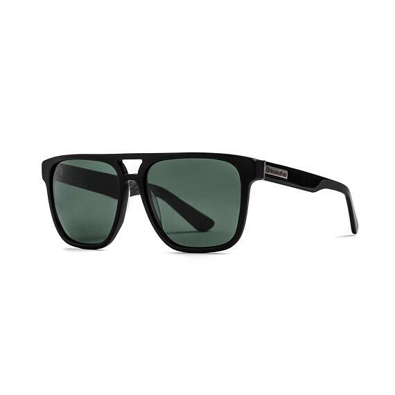 Trigger sunglasses - matt black/gray green