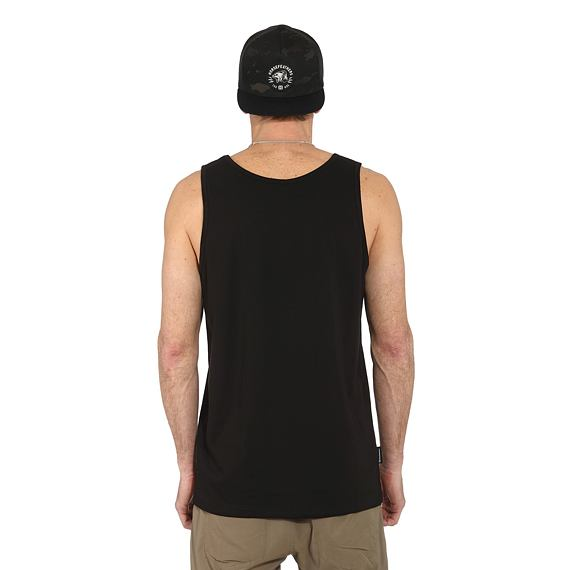 Horsefeathers tílko Shaft Tank black