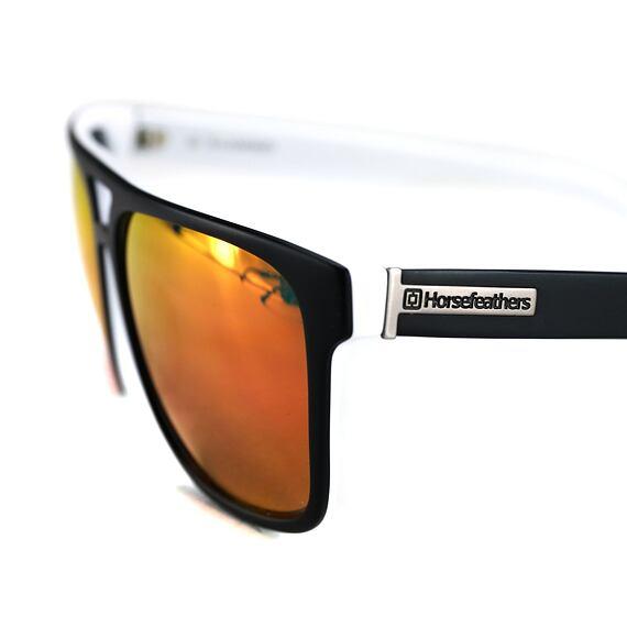 Trigger sunglasses - matt black/mirror red