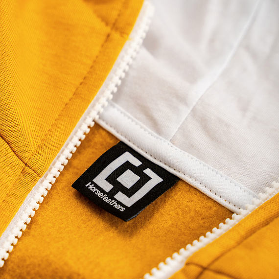 Lacey hoodie - golden yellow