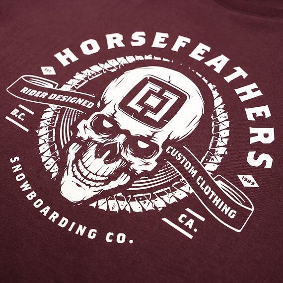 Thacker t-shirt - raisin