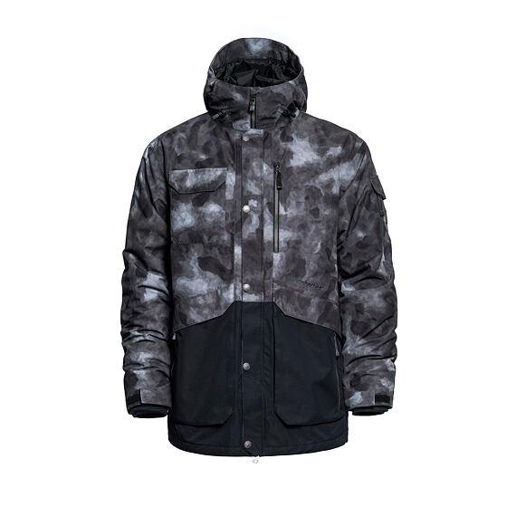 Barnett jacket - gray camo
