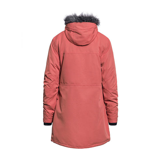 Luann jacket - spiced coral