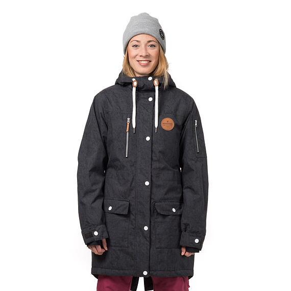 Getty jacket - space black