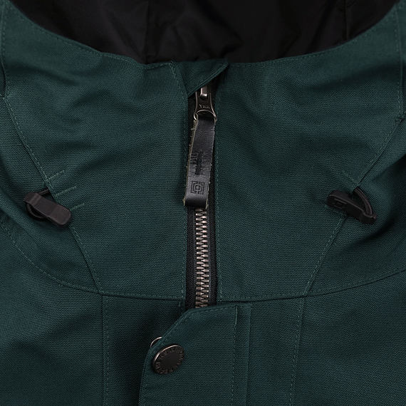 Horsefeathers bunda Barnett deep green - YKK zip