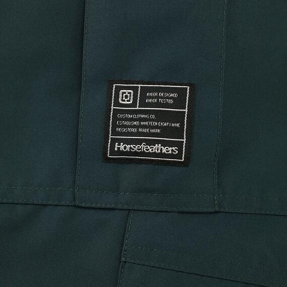 Horsefeathers snowboardové kalhoty Howel 10 - label