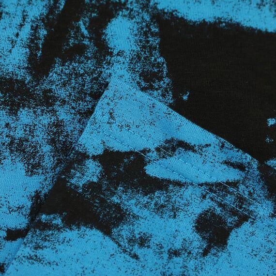 Horsefeathers triko Elmo blue tie dye